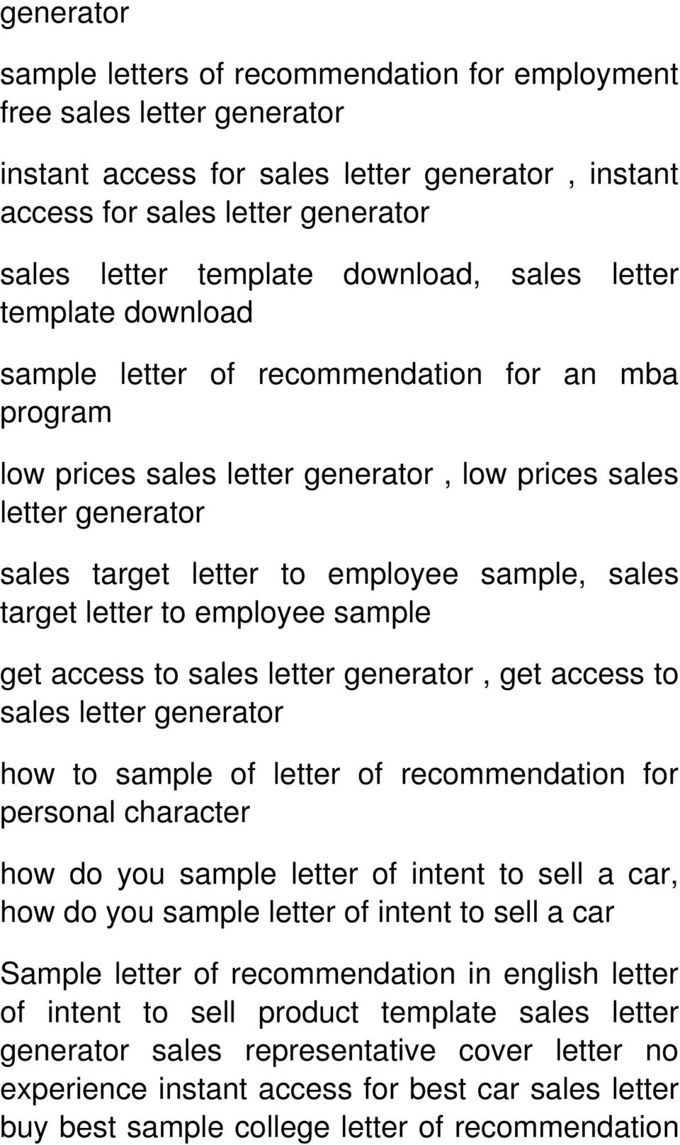letter of recommendation for personal character how do you sample letter of intent to sell a car, how do you sample letter of intent to sell a car Sample letter of recommendation in english