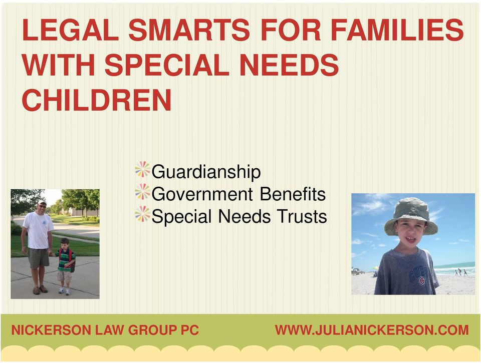 CHILDREN Guardianship