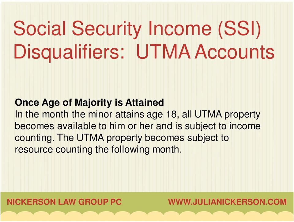 property becomes available to him or her and is subject to income