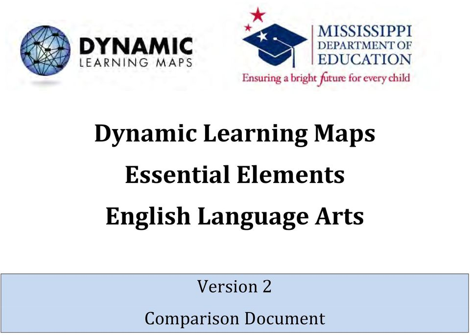 Dynamic Learning Maps Essential Elements English Language Arts ... on