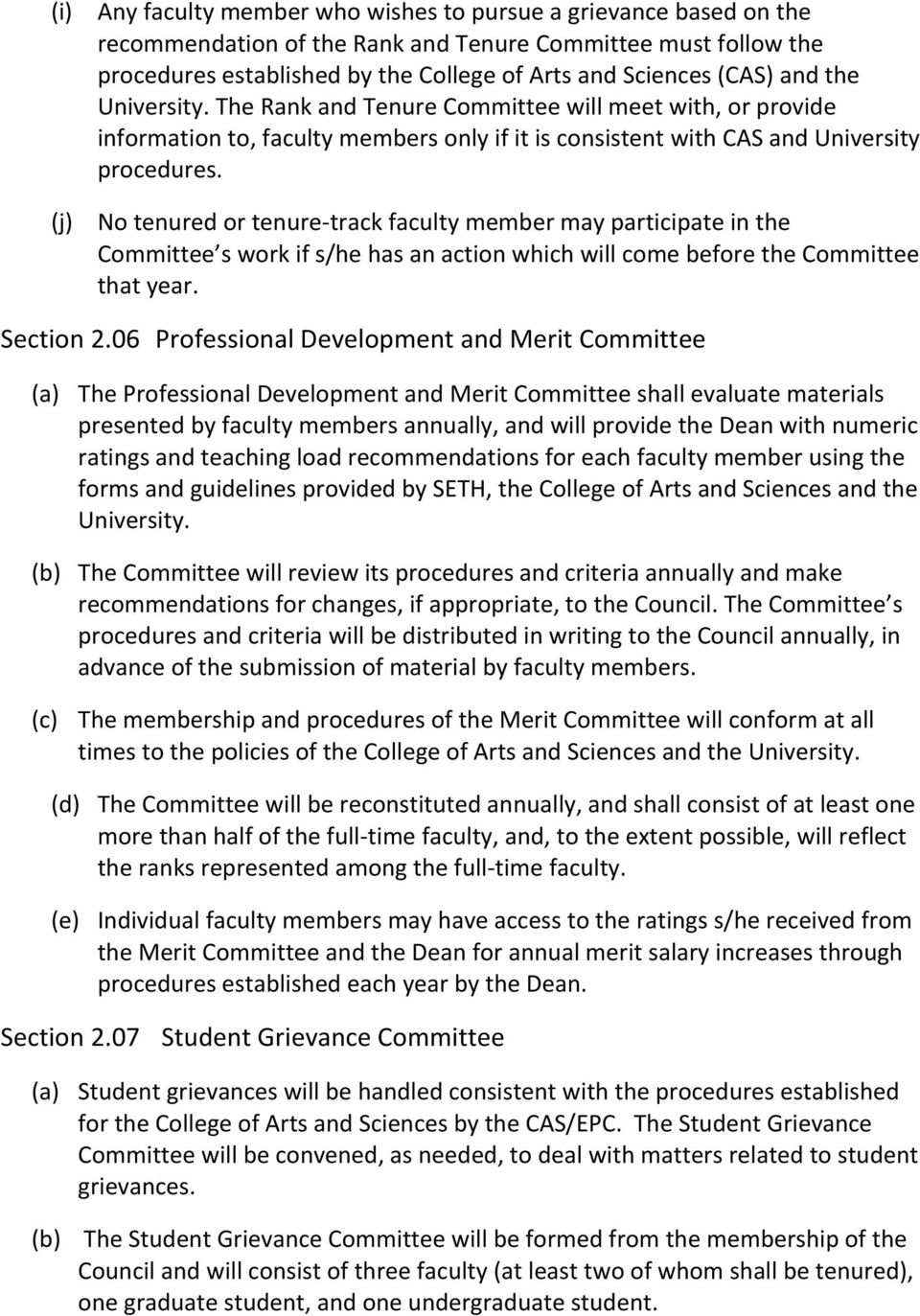 BY- LAWS OF THE SCHOOL OF EDUCATION, TEACHING & HEALTH - PDF