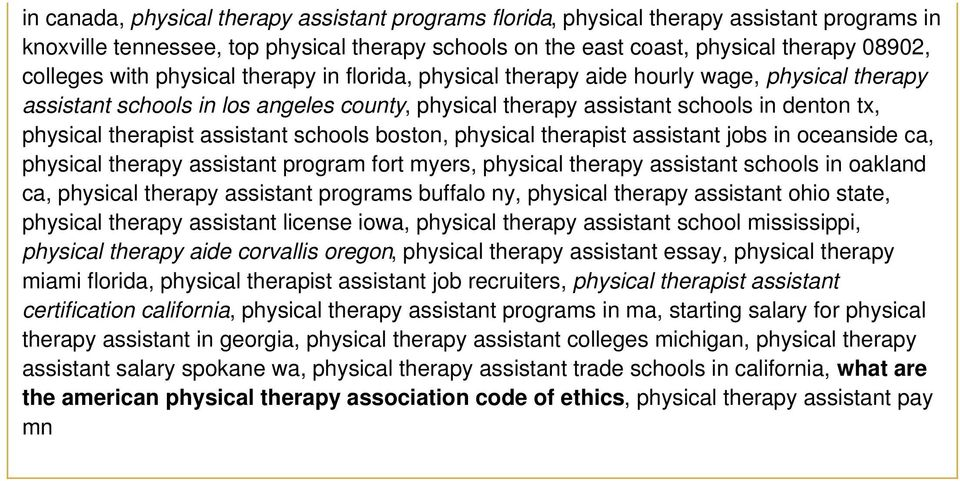 assistant schools boston, physical therapist assistant jobs in oceanside ca, physical therapy assistant program fort myers, physical therapy assistant schools in oakland ca, physical therapy