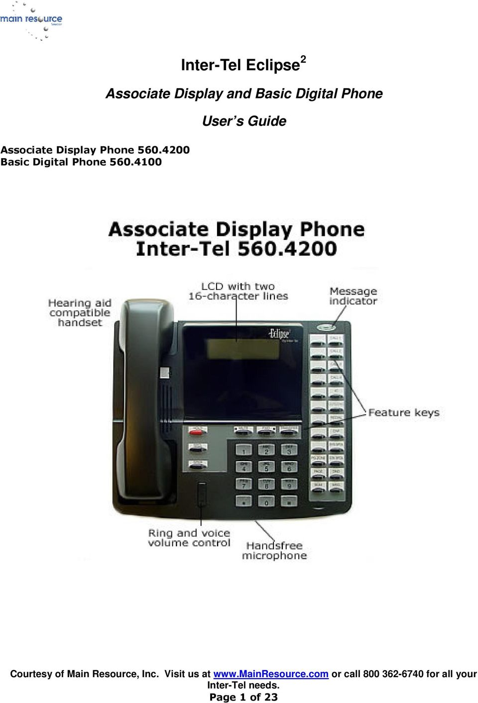 4100 Inter-Tel Eclipse 2 Associate