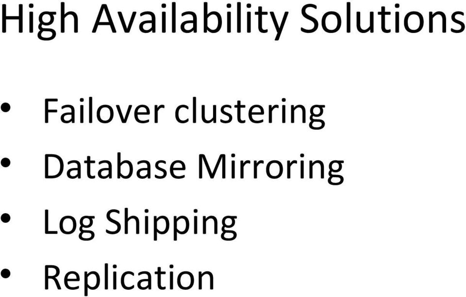 clustering Database