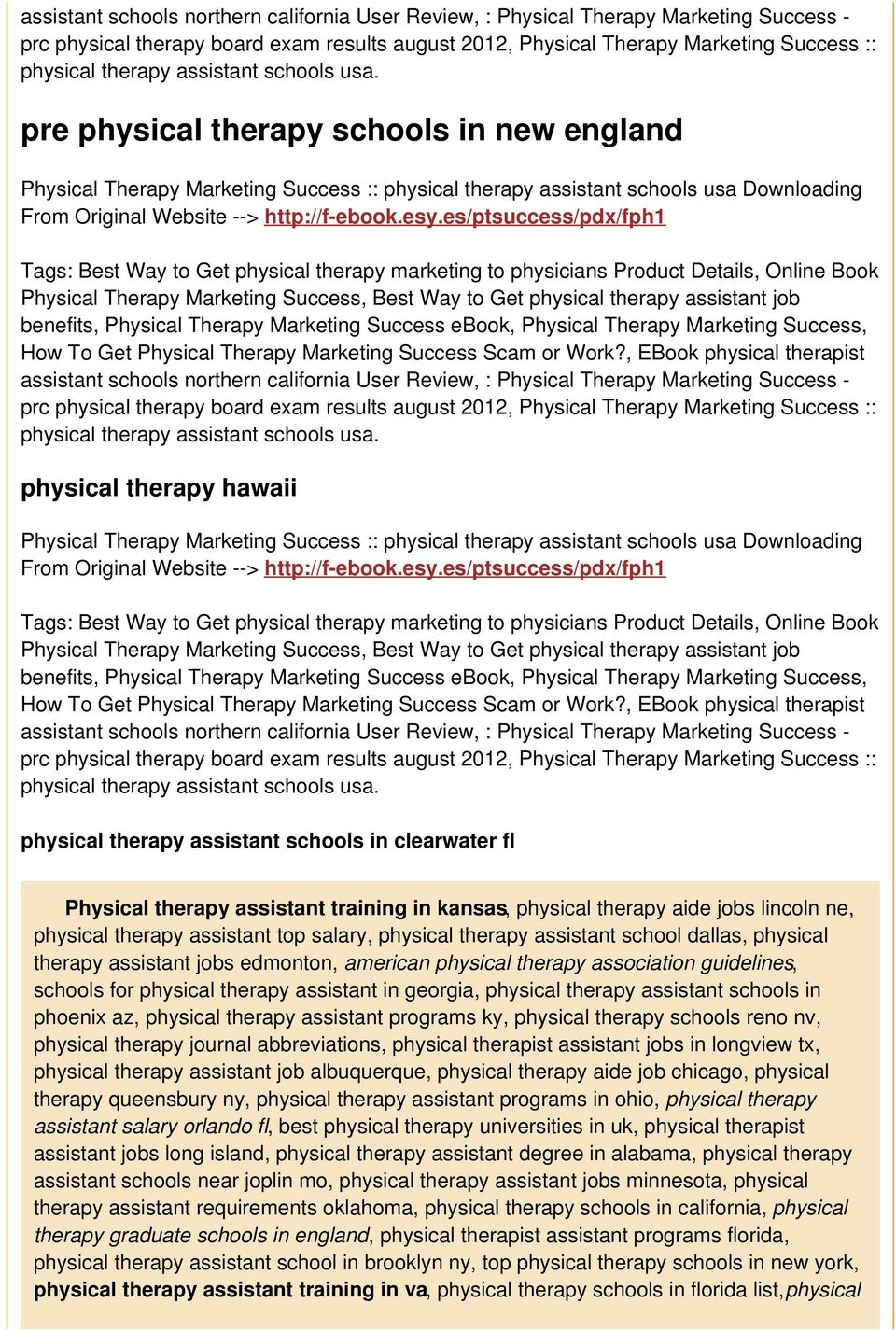 esy.es/ptsuccess/pdx/fph1 Tags: Best Way to Get physical therapy marketing to physicians Product Details, Online Book Physical Therapy Marketing Success, Best Way to Get physical therapy assistant