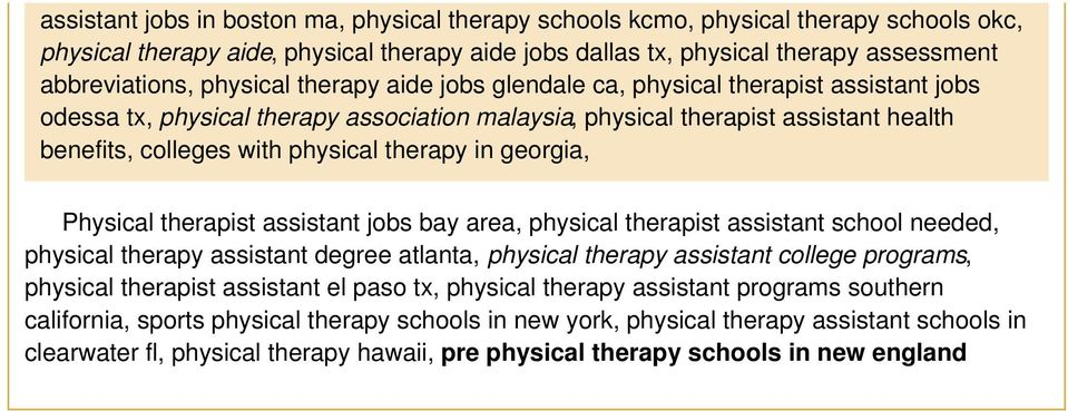 therapy in georgia, Physical therapist assistant jobs bay area, physical therapist assistant school needed, physical therapy assistant degree atlanta, physical therapy assistant college programs,