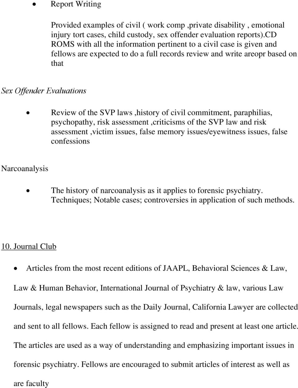 Special Topics  Goals and Objectives - PDF