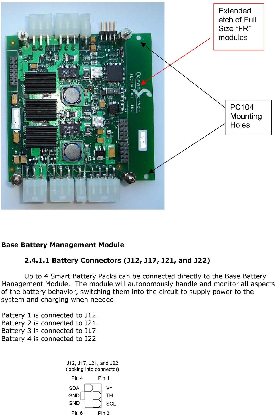 Ibps Hardware User S Guide Rev 35 June Intelligent Battery And 12a Laptop Ac Power Adapters Of 144w With Short Circuit Protection 1 Connectors J12 J17 J21 J22 Up To 4