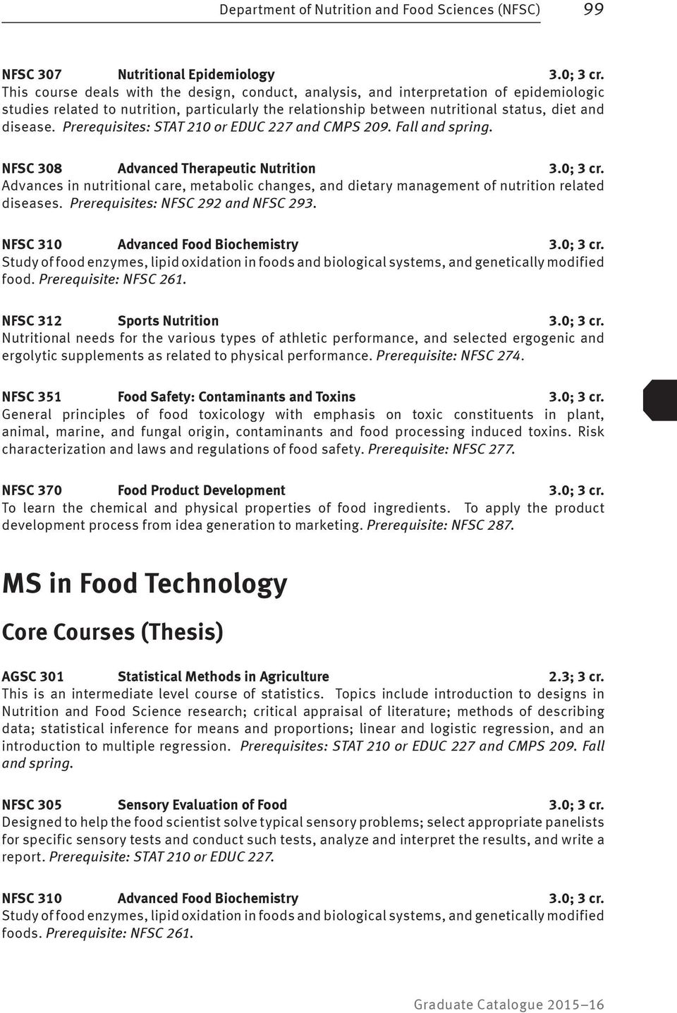 nutrition related thesis topics