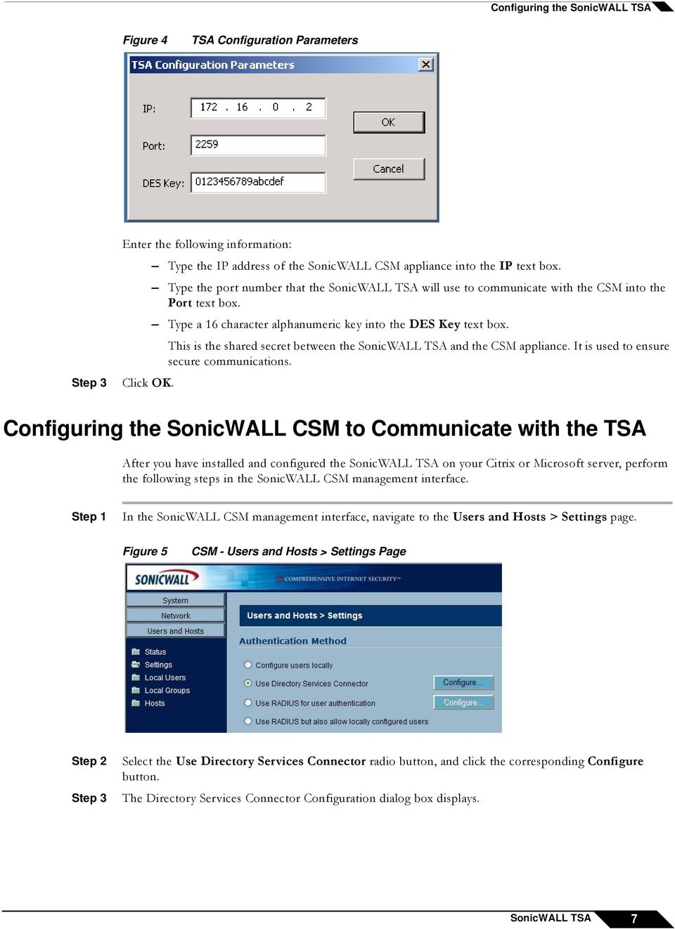 Configuring SonicWALL TSA on Citrix and Terminal Services