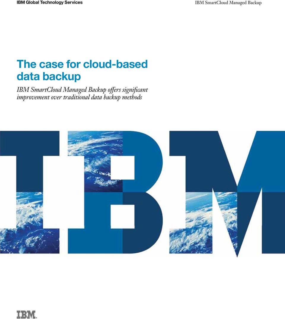 backup IBM SmartCloud Managed Backup offers