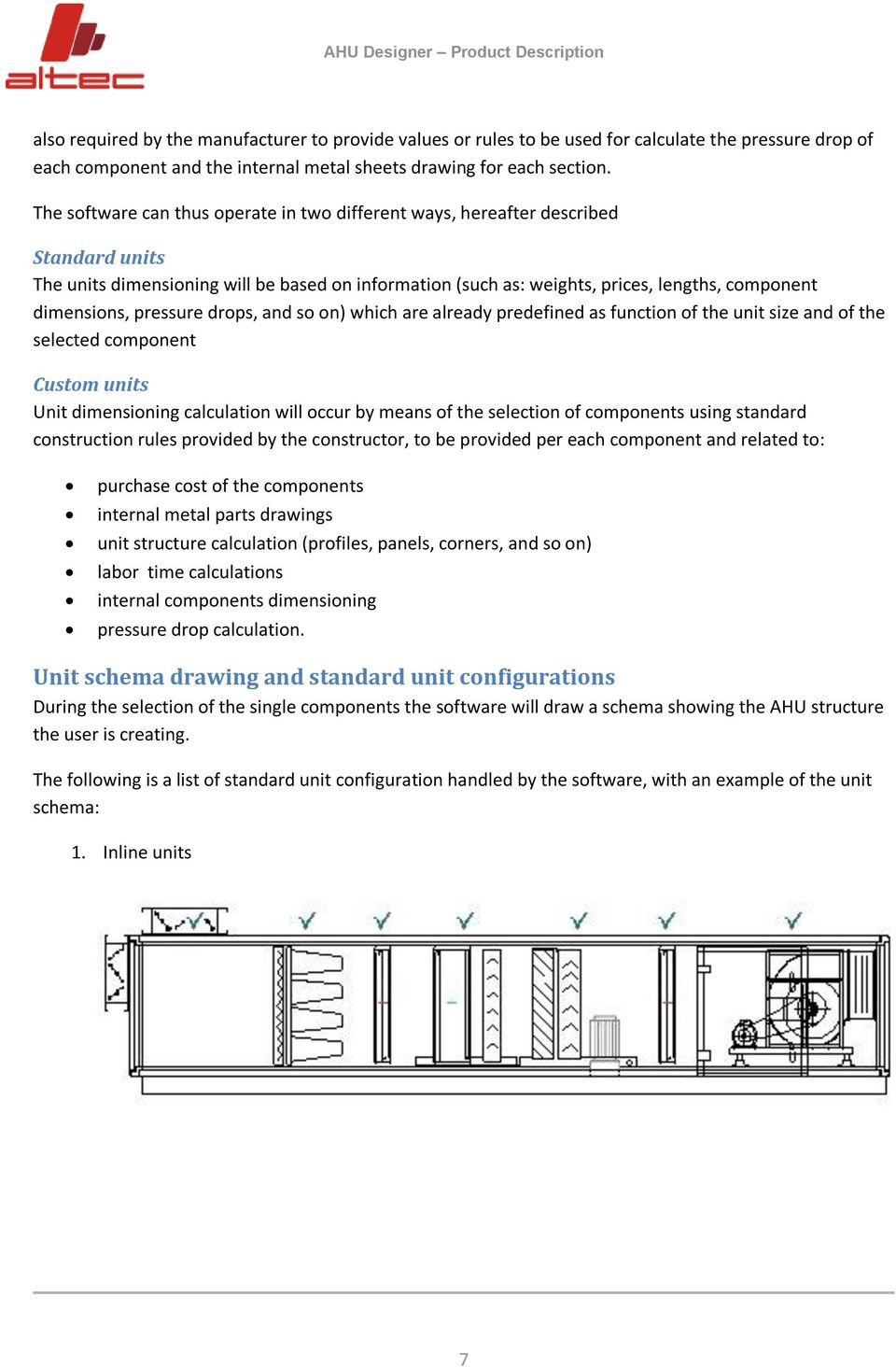 Ahudesigner The Air Handling Units Selection Software Product Description Pdf Free Download