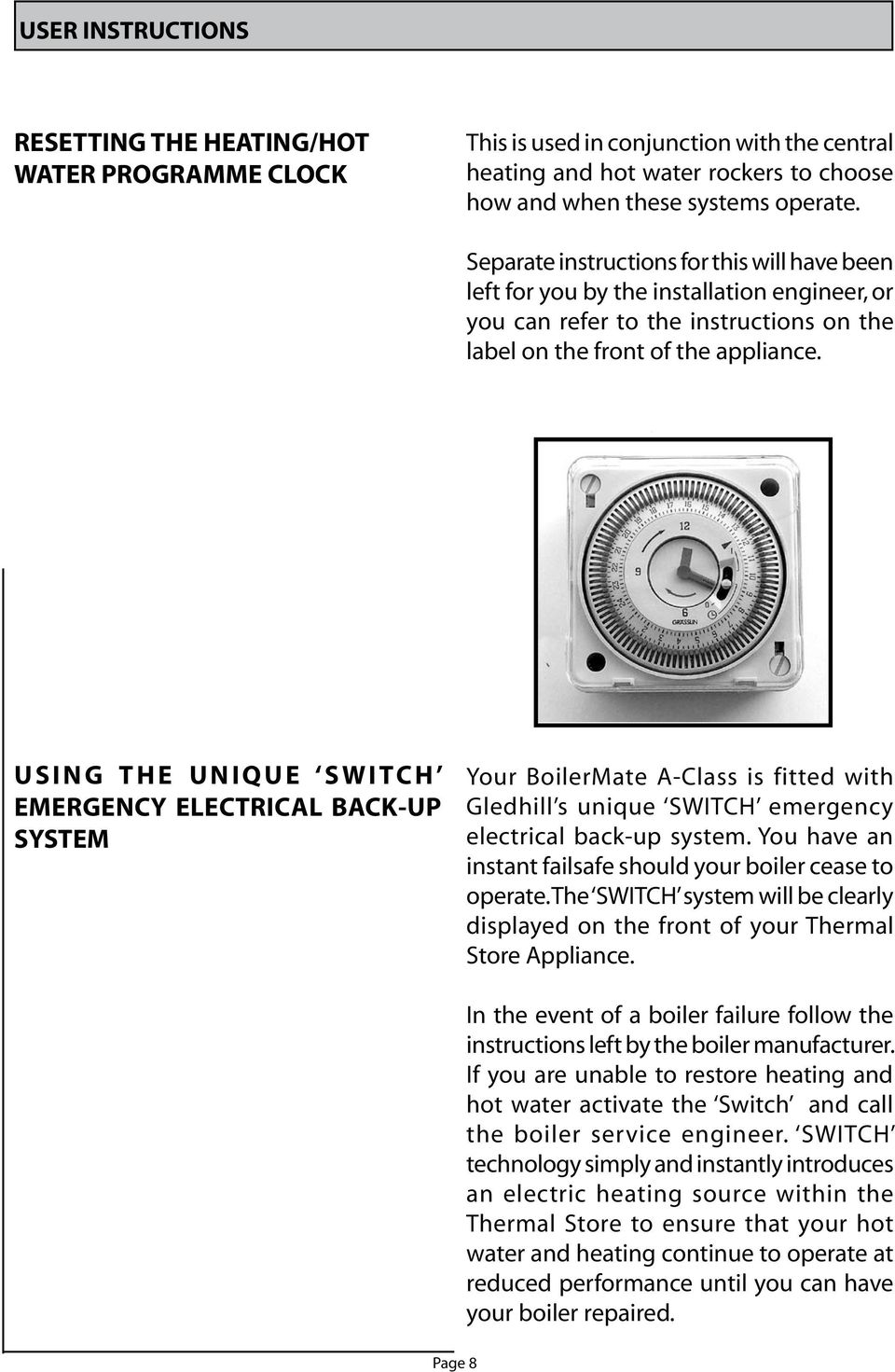 Boilermate sp benchmark user instructions a c l a s s pdf u s i n g t h e u n i q u e s w i tc h emergency electrical back up system your boilermate a class is fitted asfbconference2016 Images