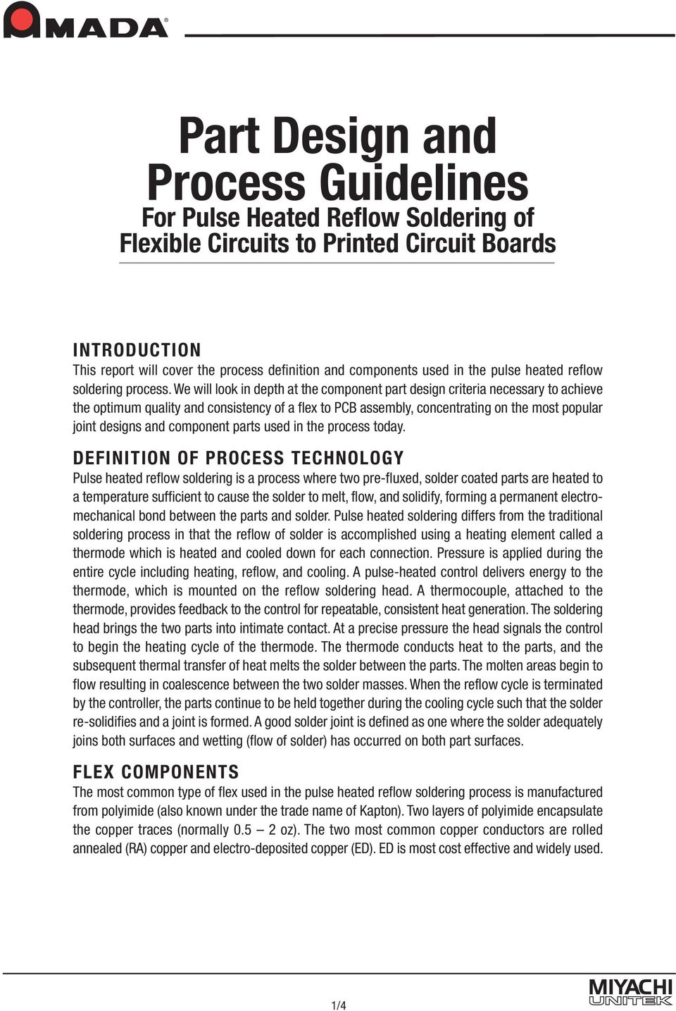 Part Design And Process Guidelines Pdf Flex Rigid Circuit Boards Electro Plate Circuitry Dragon We Will Look In Depth At The Component Criteria Necessary To Achieve Optimum