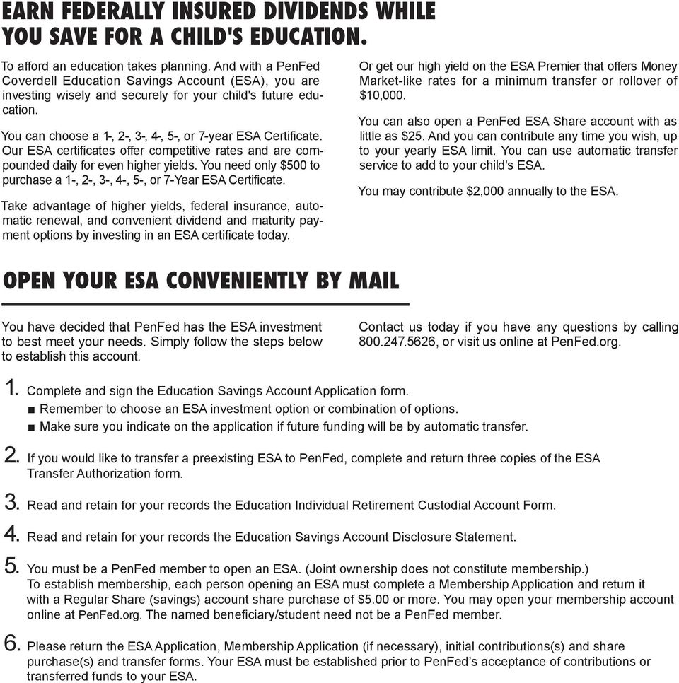 COVERDELL EDUCATION SAVINGS ACCOUNT (ESA) - PDF