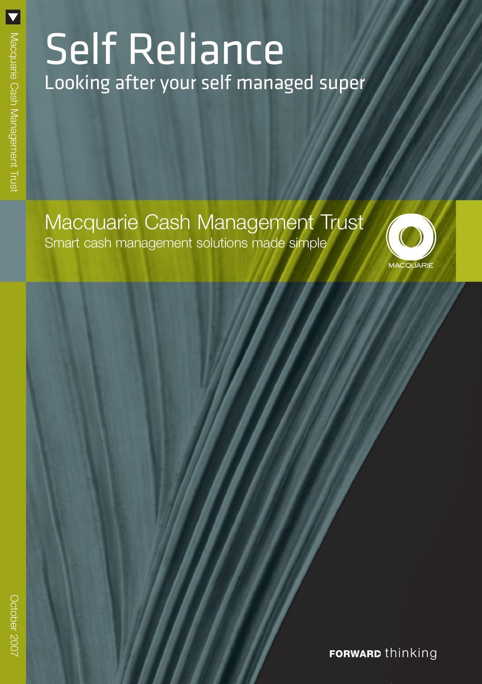 super Macquarie Cash Management Trust