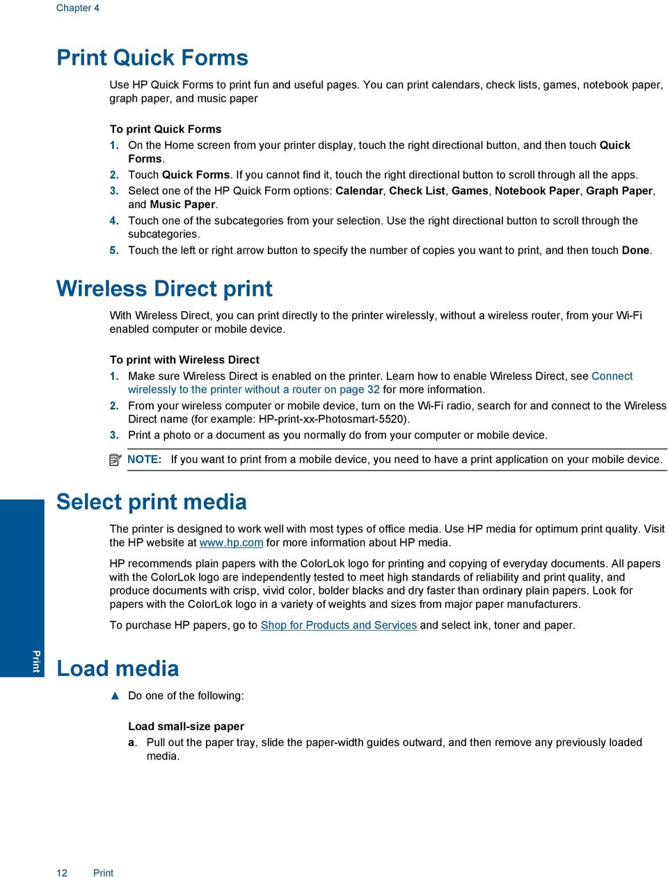 HP Photosmart 5520 series - PDF