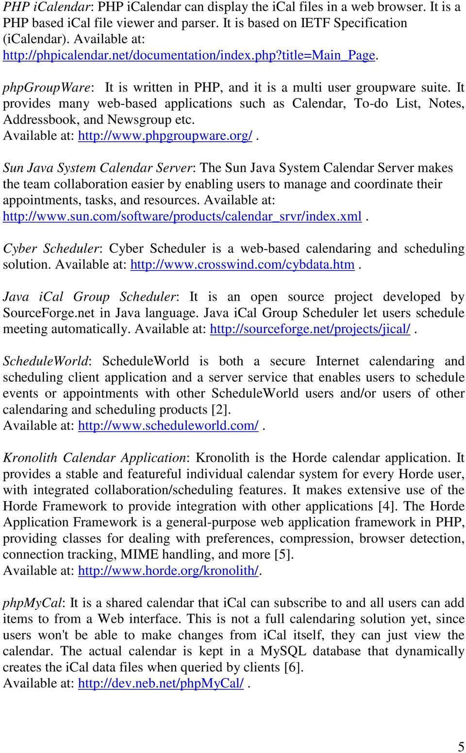 Internet Calendaring and Scheduling Core Object