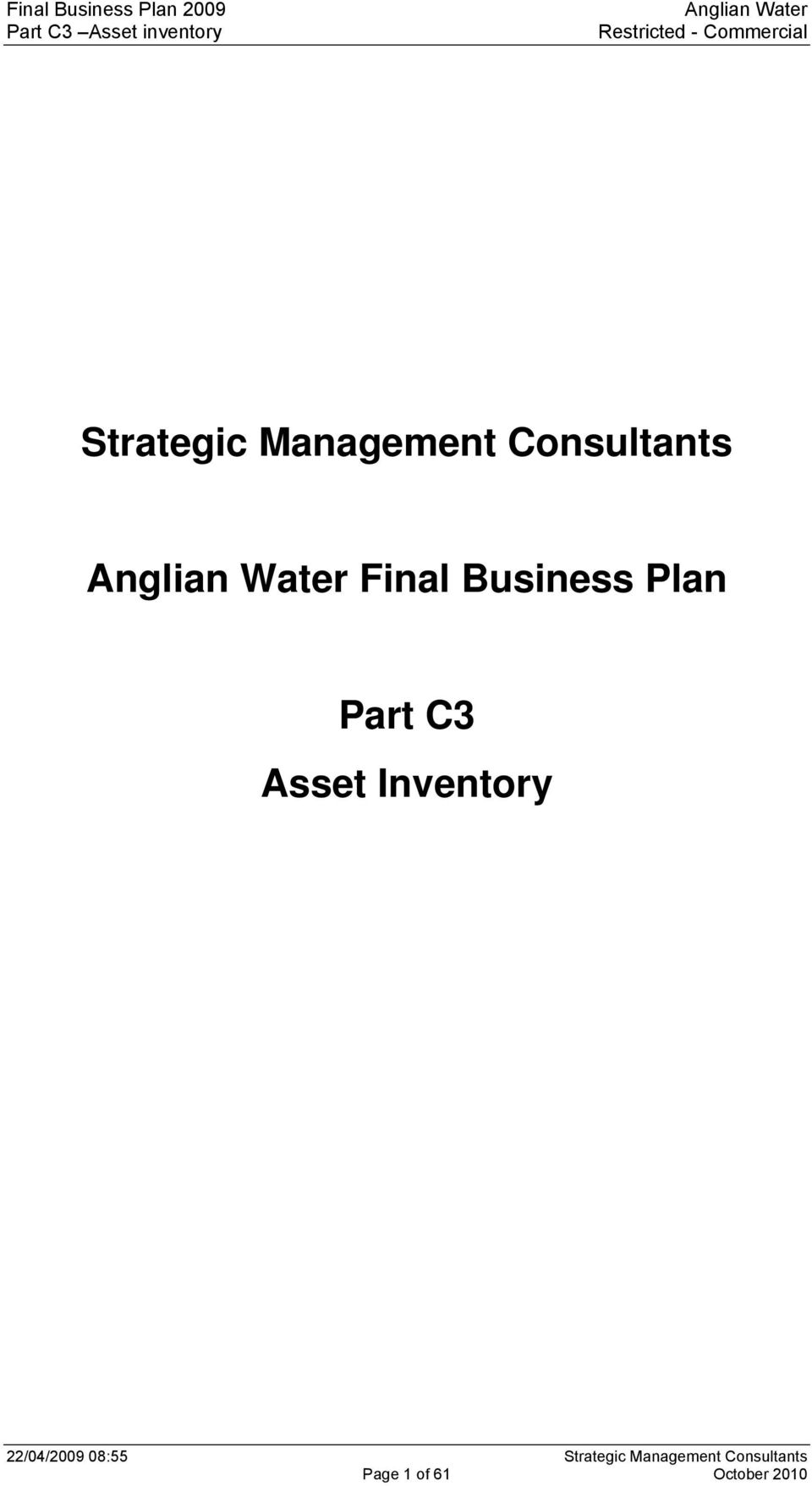 yorkshire water business plan pr14