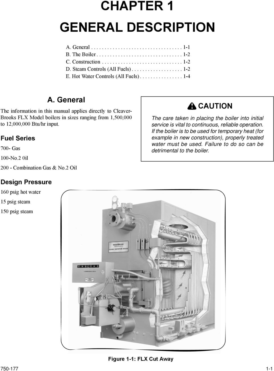 Model Flx Packaged Boiler Pdf Only After Td 2 Times Out Does The Normallyclosed Timedclosed General Information In This Manual Applies Directly To Cleaver Brooks Boilers