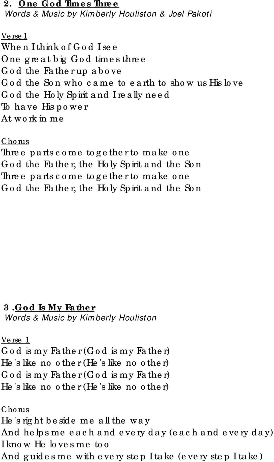 Song Book  Sing About God s Love  General Conference Seventh