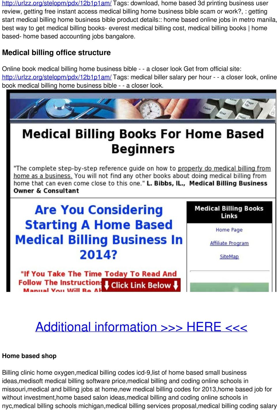 Billing For Home Inr Instant Access For Medical Billing Books