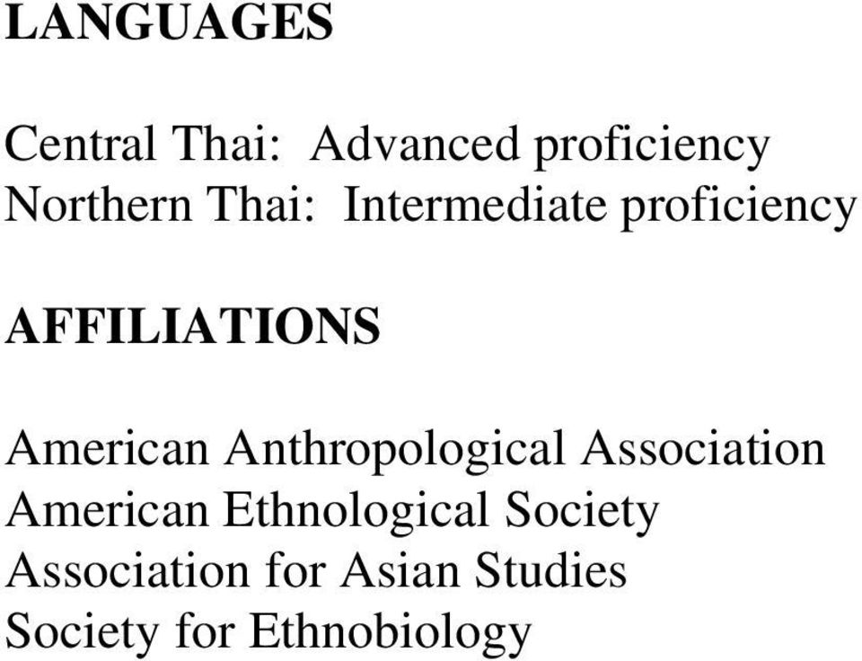 Anthropological Association American Ethnological