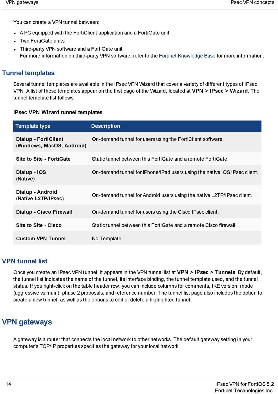 FortiOS Handbook - IPsec VPN VERSION PDF