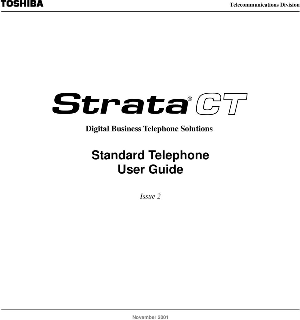 Telephone Solutions Standard
