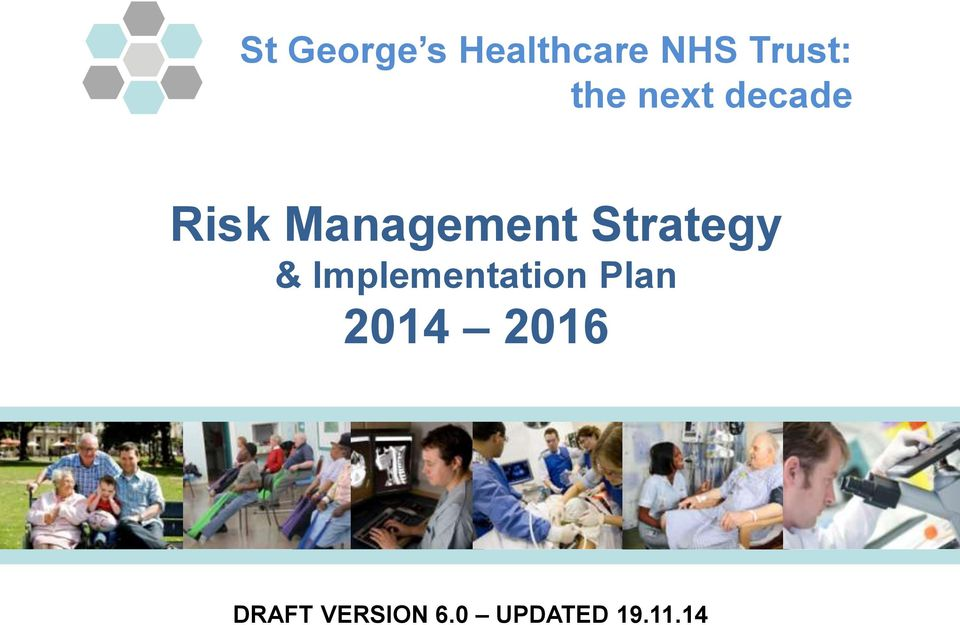 Strategy & Implementation Plan 2014