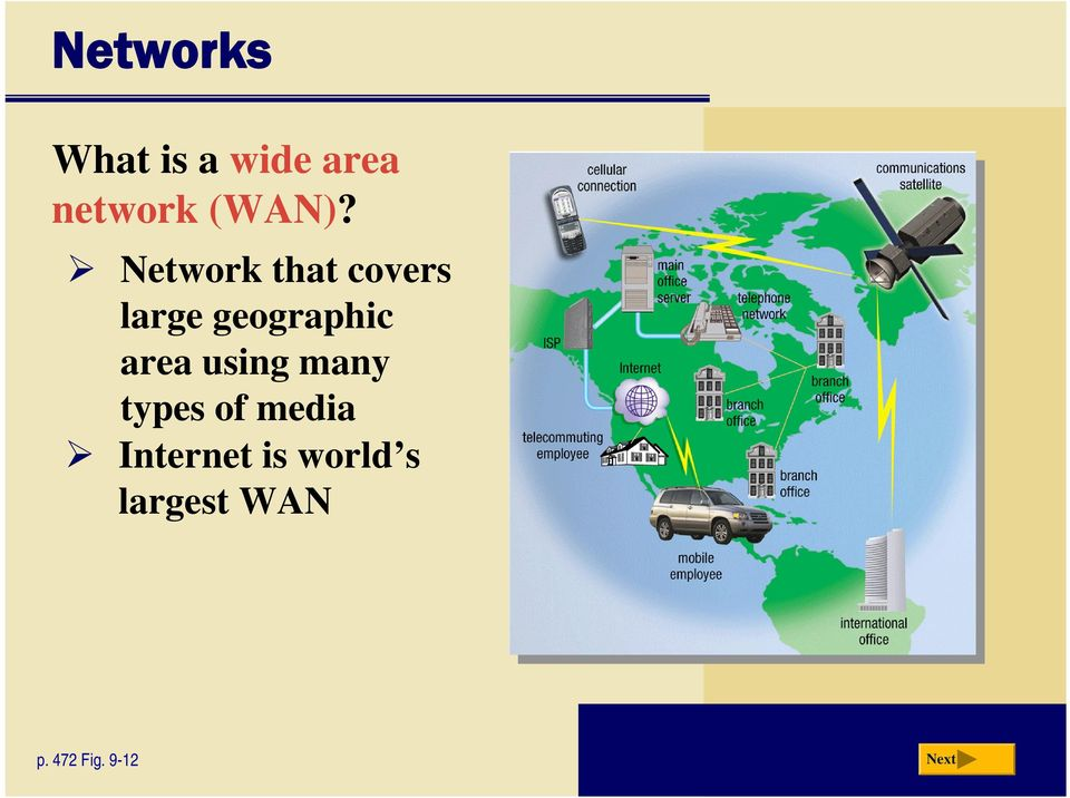 Network that covers large geographic