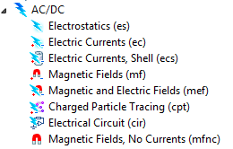 Electromagnetics Modeling in COMSOL Multiphysics The AC/DC and RF