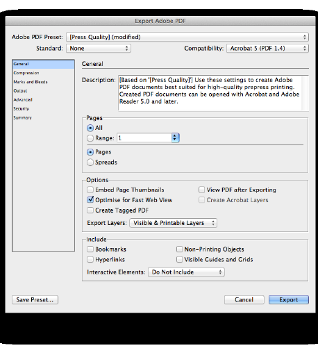 Create Print Ready PDF s from InDesign - PDF