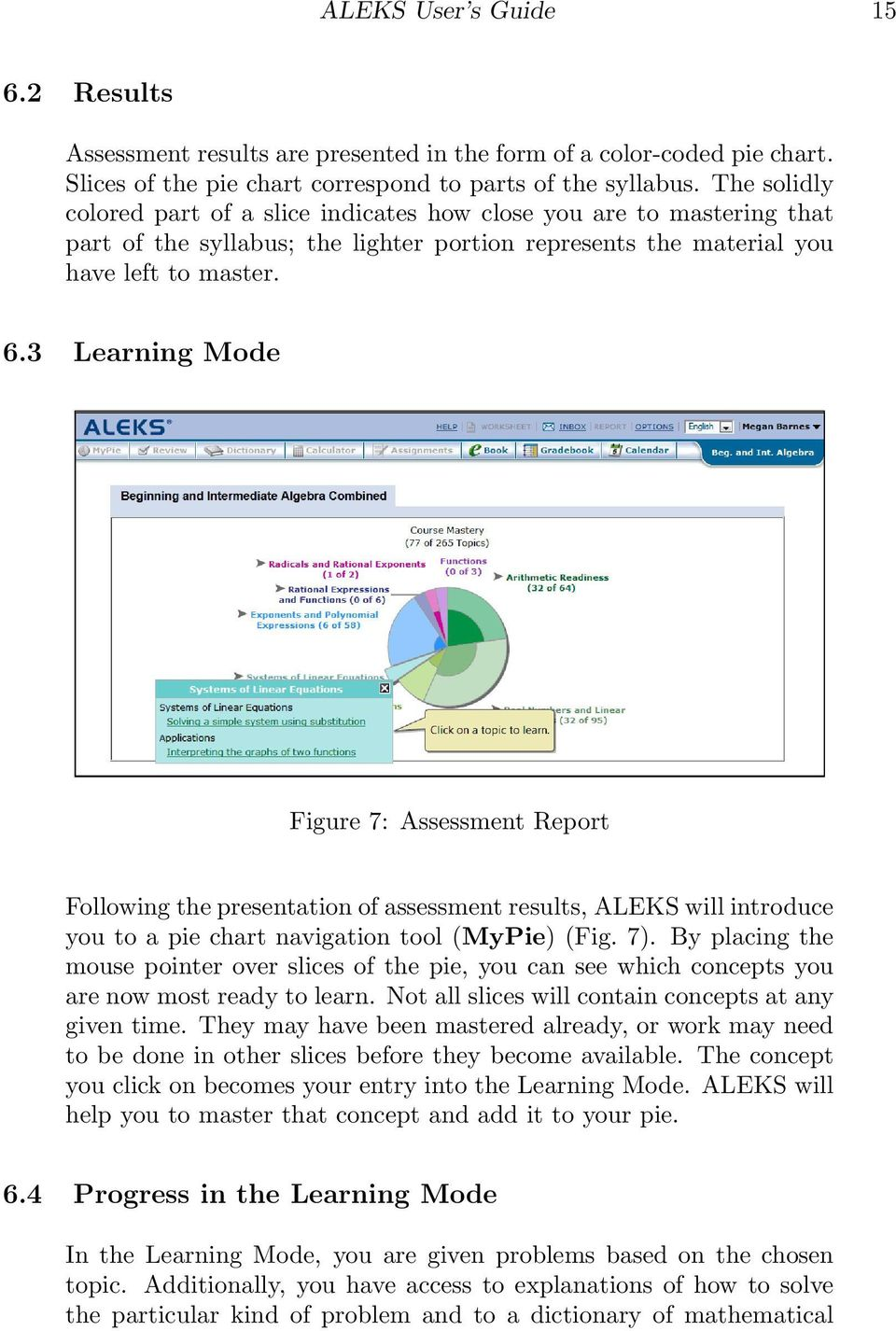 User s Guide  for Higher Education Mathematics  Advanced