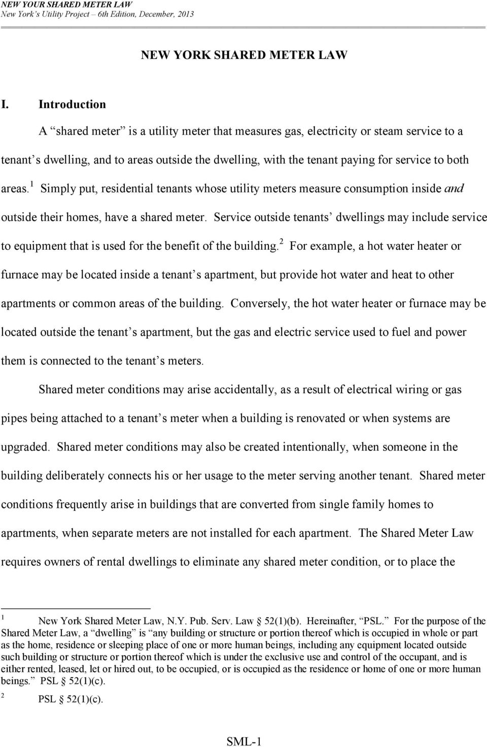 NEW YORK SHARED METER LAW - PDF