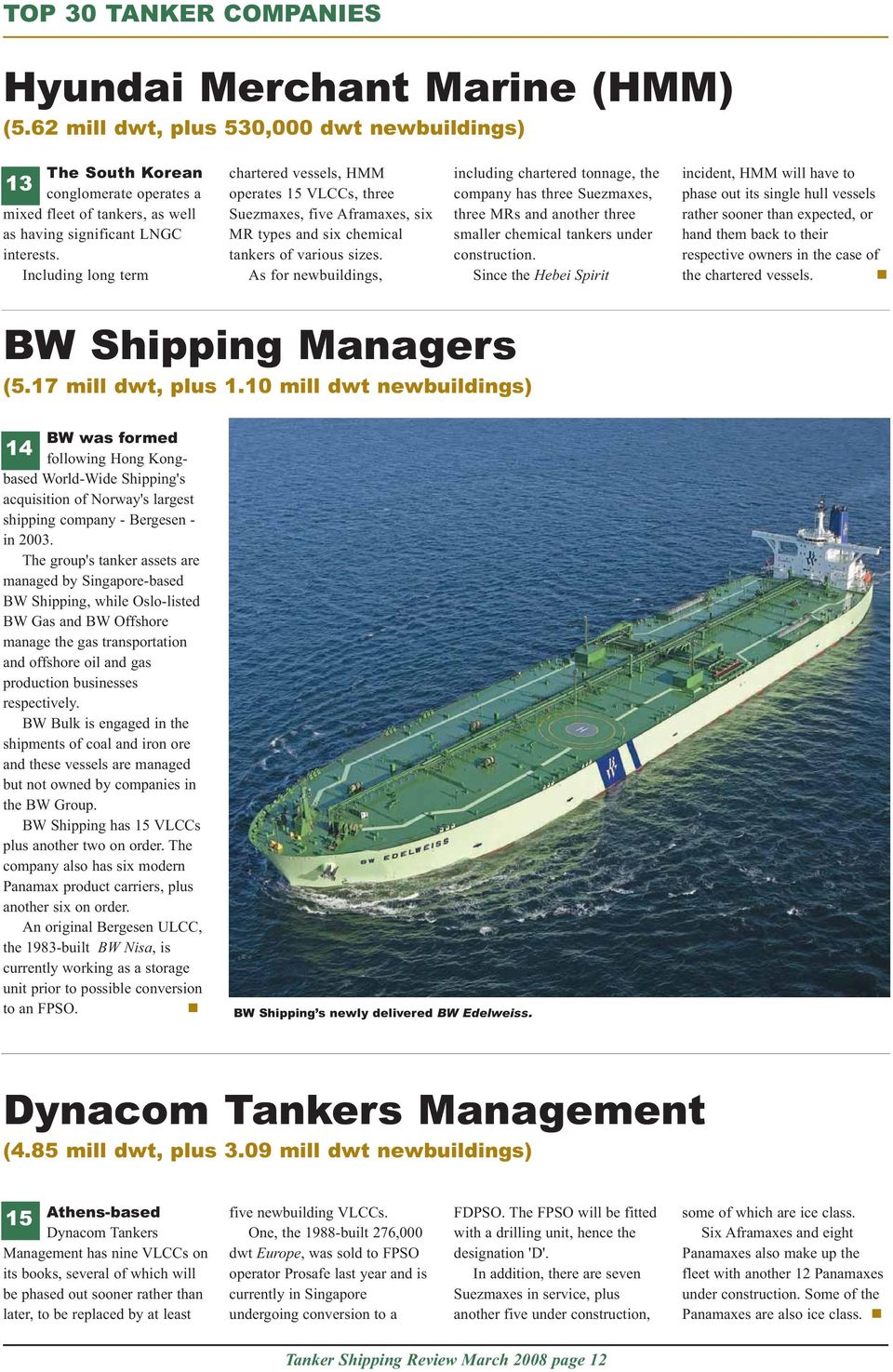 A TANKEROperator publication  Tanker shipping  March review  Stealth
