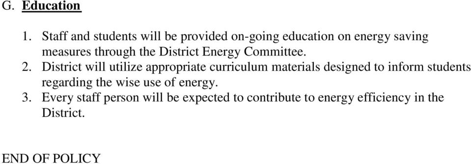 the District Energy Committee. 2.