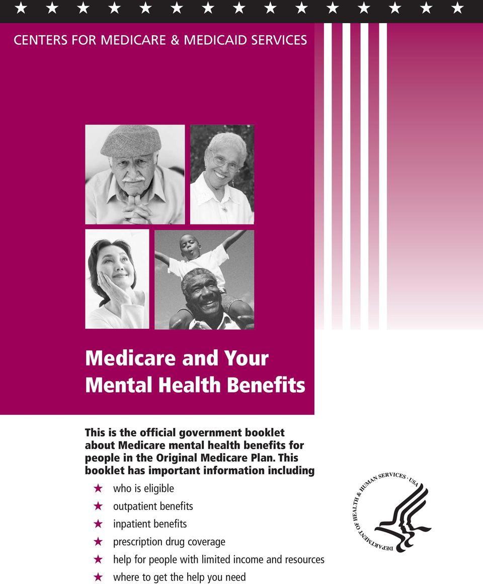 This booklet has important information including who is eligible outpatient benefits inpatient benefits