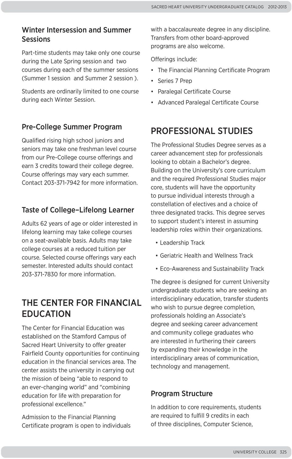 University College ADMISSIONS PROCESS FOR PART-TIME STUDY - PDF