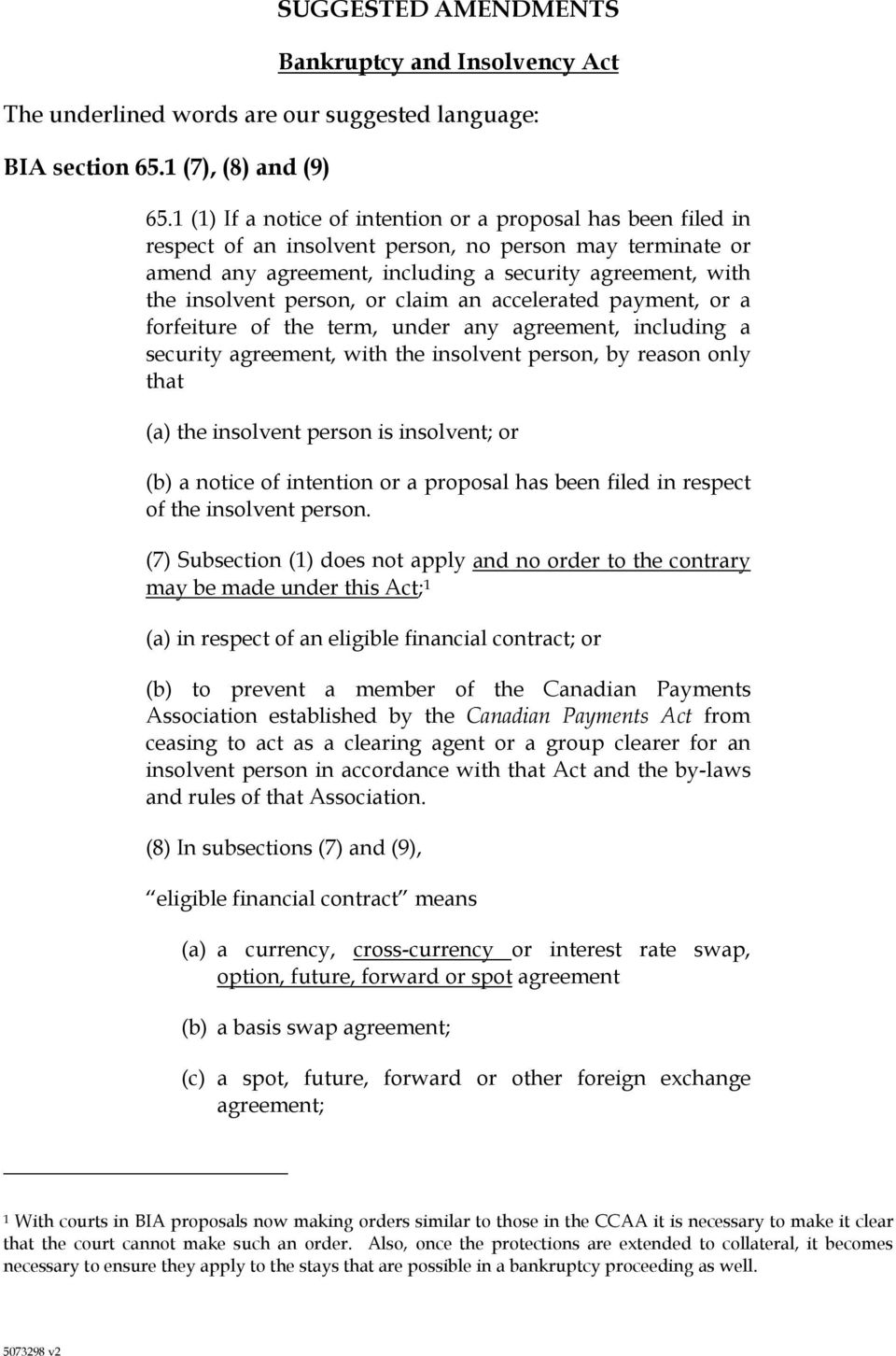 bankruptcy and insolvency act canada pdf