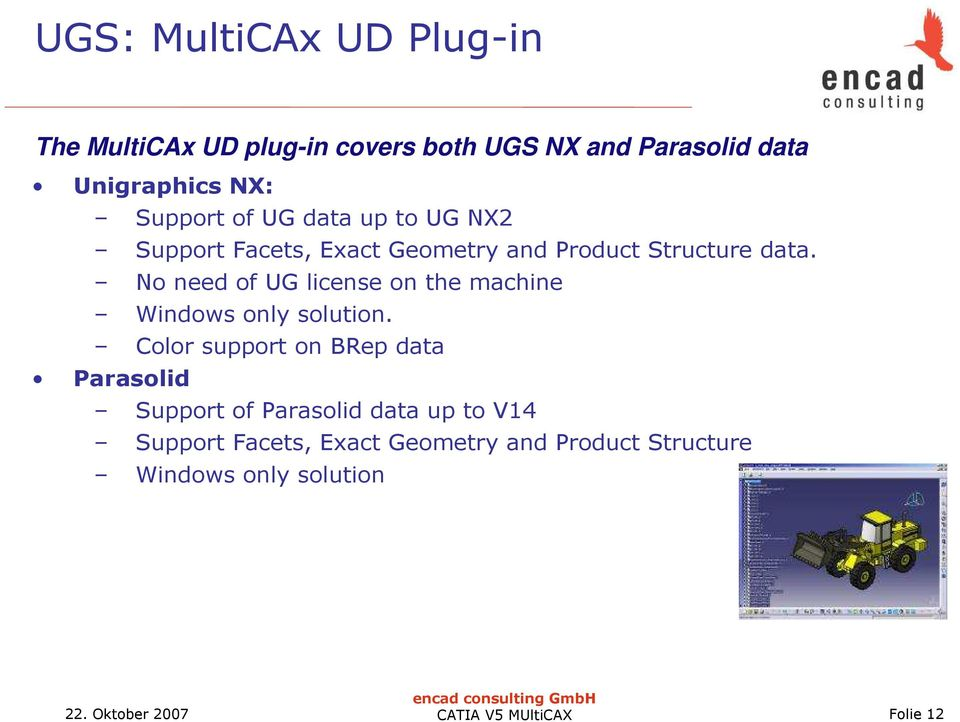 MultiCAx Products  encad consulting GmbH - PDF