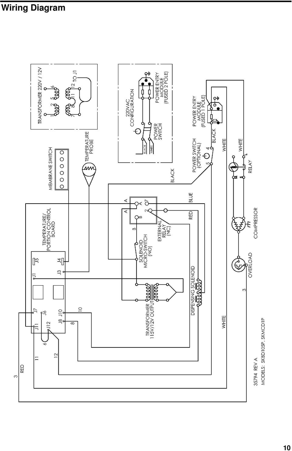 Name Of Equipment Silver King Model Skmcd1p C1 This Medallion Air Conditioner Compressor Wiring Diagrams 10 Diagram