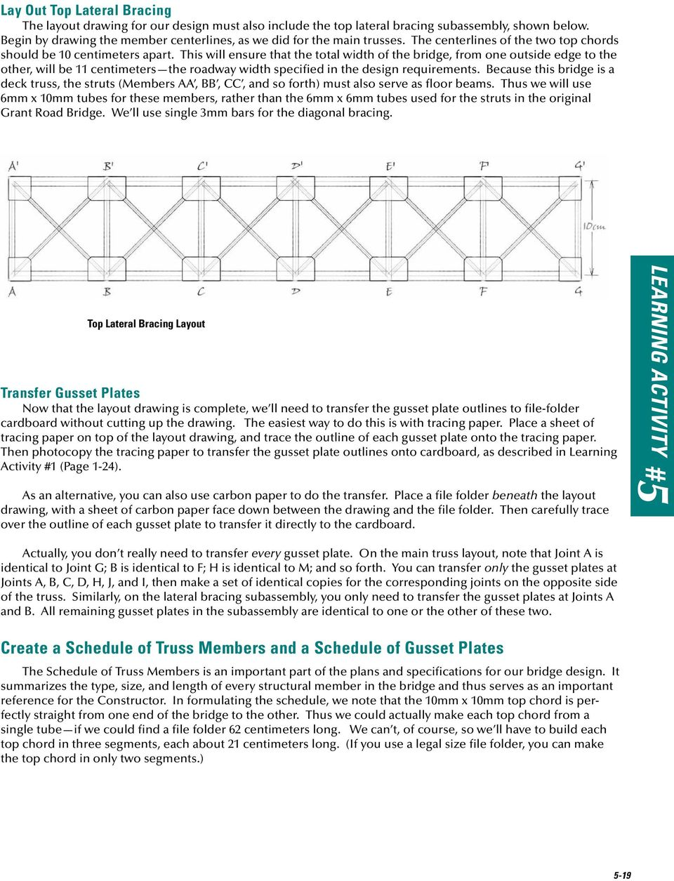 Design And Build A Model Truss Bridge Pdf Diagram Aircraft Software This Will Ensure That The Total Width Of From One Outside Edge To