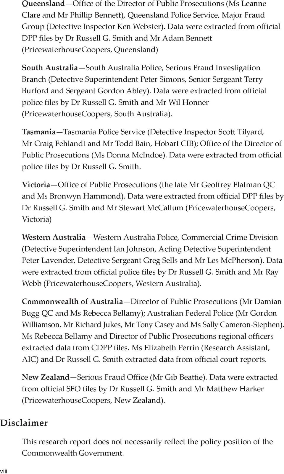Serious Fraud In Australia And New Zealand Pdf Free Download