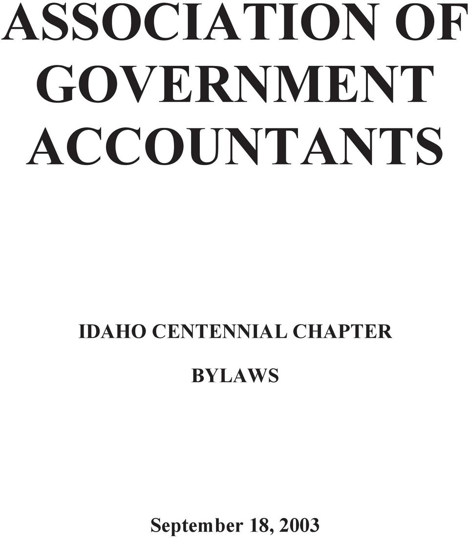 ACCOUNTANTS IDAHO