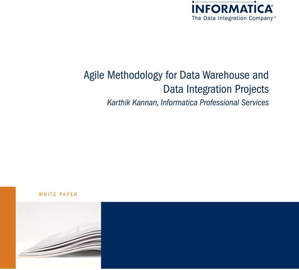 and Data Integration Projects