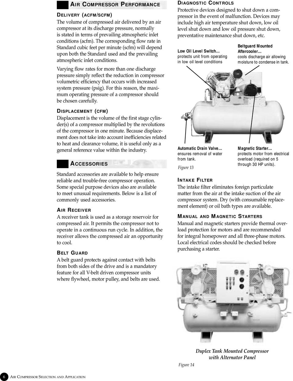 Air Compressor  Selection and Application  1 4HP through 30HP - PDF