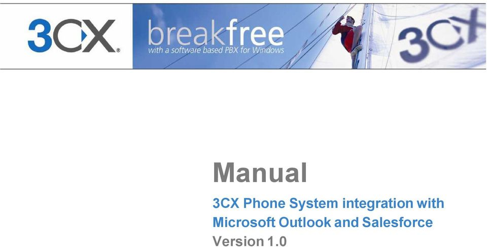 Manual  3CX Phone System integration with Microsoft Outlook and