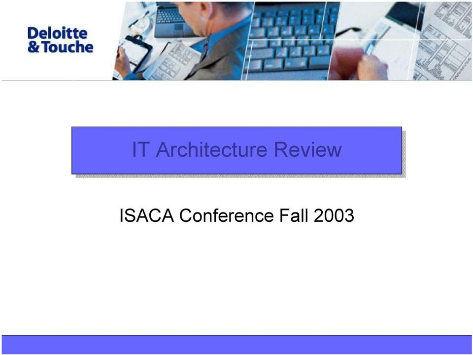 Review ISACA