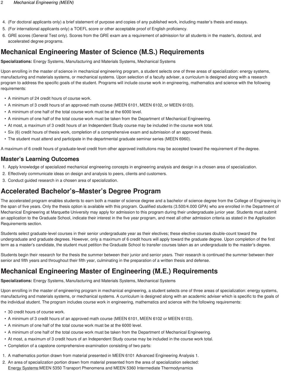 statement of purpose for ms in mechanical engineering